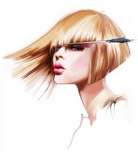 流し 前髪 作り方