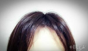 前髪が浮く 2