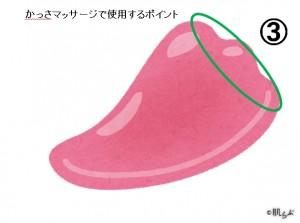 足かっさ使い方3