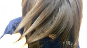 髪の毛 ベタベタ ②