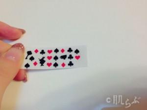 ネイルシール 作り方 両面テープ