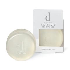 dプログラム コンディショニングソープ 洗顔料 乾燥肌 クレンジング