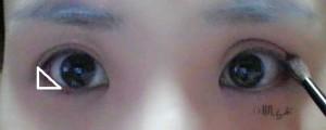 裸眼メイク ②