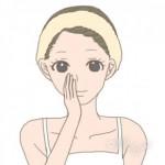 10代 化粧水 つけ方3