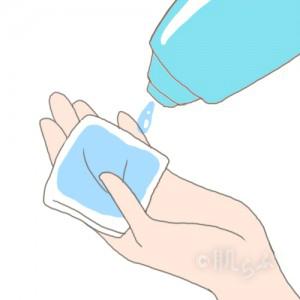 10代 化粧水 つけ方 コットン