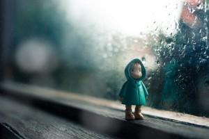湿気 髪 雨