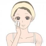 10代化粧水 コットン つけ方