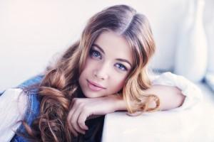 天使の輪 女性 髪