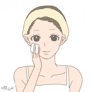 化粧水 つけ方 コットン