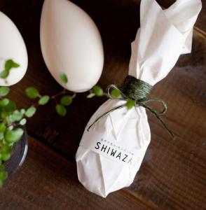 自然の恵み・米みるく石鹸『SHIWAZA』