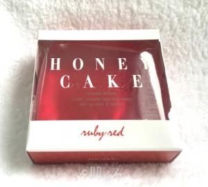 ホネケーキ 資生堂 洗顔石鹸 ルビー