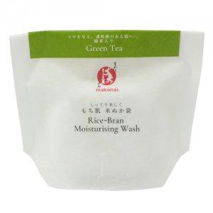 まかないこすめ もち肌米ぬか袋 (緑茶)