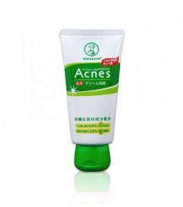 メンソレータムアクネス 薬用クリーム洗顔 ニキビ 洗顔料