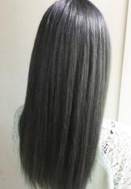 男性が好きな女性の髪型 黒髪ロング ストレート
