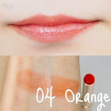 オペラ リップ ティント 口紅 色 04 オレンジ