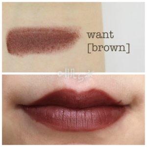 フーミー リップスティック want brown