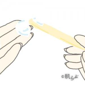 クレンジングクリーム 使い方3