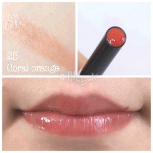 オペラ シアーリップカラーN 25 coral orange
