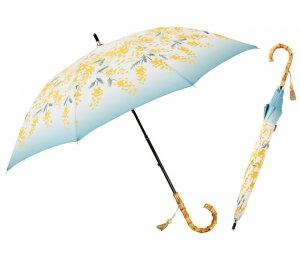 ミモザ ショートスライド日傘(長傘)