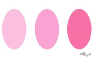 ブルベ ピンク