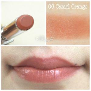 ルナソル エアリーグロウリップス 06 camel orange