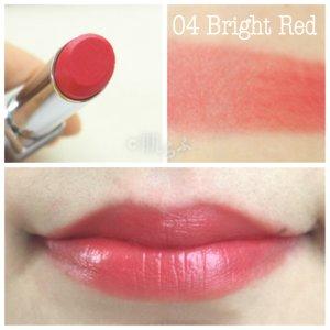 ルナソル エアリーグロウリップス 04 bright red