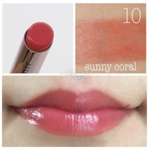 アテニア 口紅 プライムルージュ 10 sunny coral