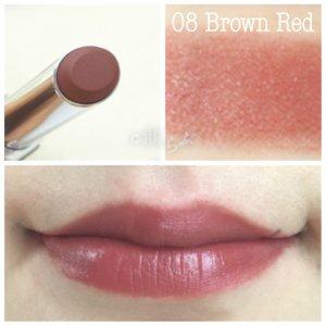 ルナソル エアリーグロウリップス 08 brown redルナソル エアリーグロウリップス 08 brown red
