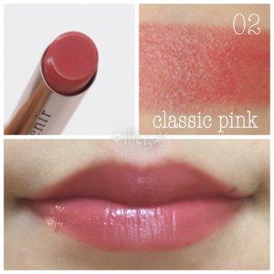 アテニア 口紅 プライムルージュ 02 classic pink