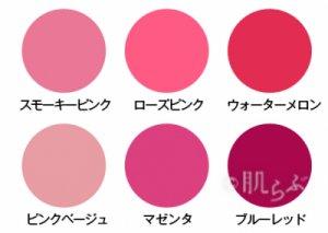 ブルベ ブルーベース 似合う色 ピンク 口紅 塗り方 基本 赤 流行り