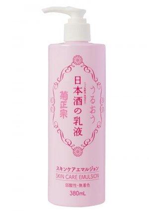 菊正宗_日本酒の乳液