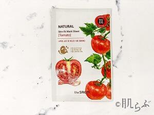 Theseam(ザセム)_ナチュラルスキンフィットマスクシートトマト