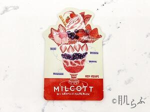 MILCOTT(ミルコット_マイパルフェマスクパック_レッドレシピ