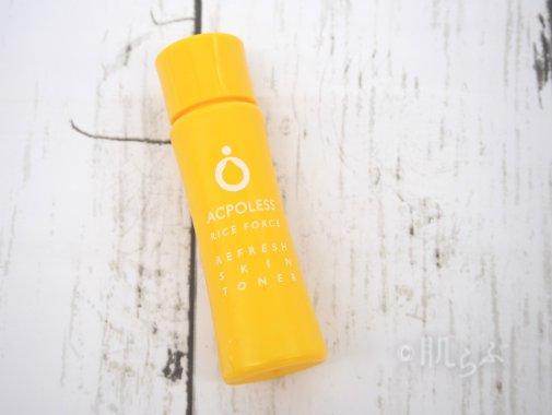 ライスフォース アクポレス リフレッシュスキントナー 化粧水 ニキビ 2 口コミ
