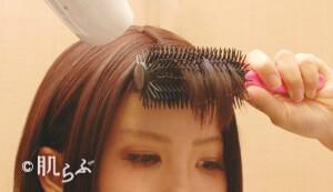 斜め前髪 作り方