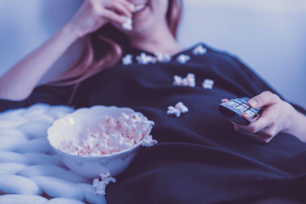気分転換に映画鑑賞をする