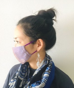 イア パピヨネ(ear PAPILLONNER)のマスク着用イメージ