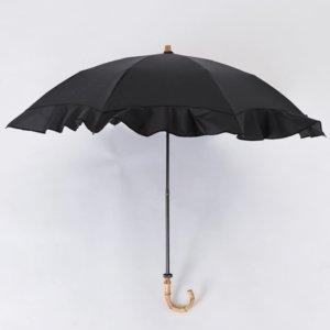Lieben(リーベン) UV遮熱遮光折傘 ラッフルフリル
