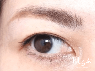 エテュセの眉マスカラ02 アッシュピンク