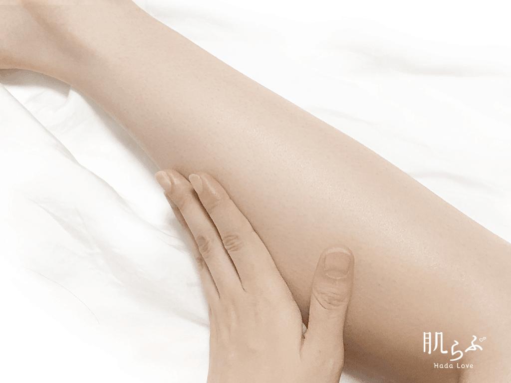 透明白肌の化粧水は全身の保湿にも使え