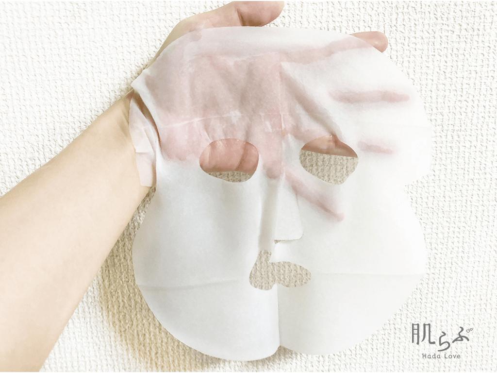 透明白肌のホワイトマスクの使用感
