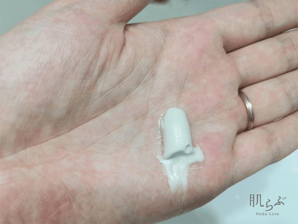 人気クレイ洗顔「アラヴィータ クレイウォッシュ」のテクスチャ