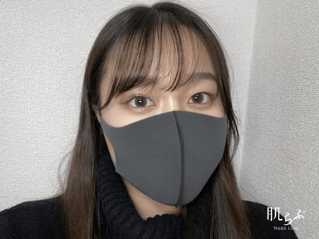 005番を使用したマスクメイク